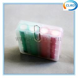 Lovely Design 4*18650 Plastic Battery Storage Case/Box For Li-ion Batteries