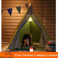 Kids Teepee tent Indian tent cabins playroom Child Tent