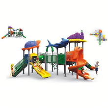 hot outdoor playground, LZ-H893 children outdoor used commercial playground equipment sale