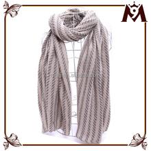 Winter warm unisex handmade bright color long polyester fringe scarf