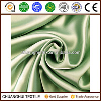 75D*300D satin two sides shining blackout fabric for curtains