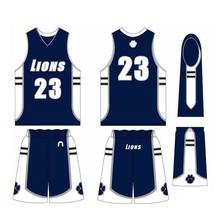 Sublimated Basketball Uniform Professional 100% Polyester inter lock Basketball Uniforms/European Basketball Jerseys