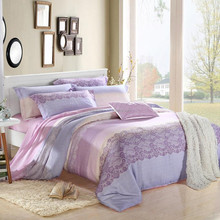 Soft home sense 100% cotton bedding set 4pcs korean bedding set