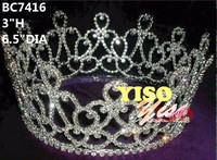 costume crystal pageant full crown