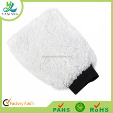 Synthetic Wool Wash Mitt.Car Cleaning Large Absorbant Chenille Microfibre Wash Mitt Glove