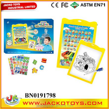 WALL CHART WITH WRITING BOARD(ENGLISH&INDONESIA), EDUCATIONAL TOY FOR KID