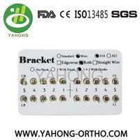 Orthodontic mini roth brackets dental materials best selling
