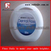 FDA Certificated waxed and mint flavor Oral Hygiene dental products China