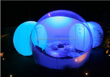 Half Transparent Bubble Tent Outdoor Camping