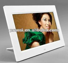 loud speaker 7inch Digital photo frame album to display digital photo, music, video and read SD/MMC/USB driver