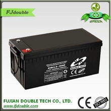 Fast delivery MF 12v 200ah CKD solar panel with integrated battery