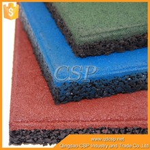 (CSP)sound insulation shockproof rubber flooring,anti slip rubber mat,cheap floor tiles