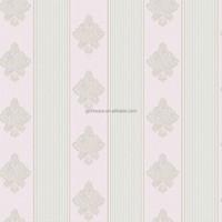 2015 new fashion simple designs decorative home nonwoven wallpaper