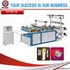 Side sealing plastic bag making machine