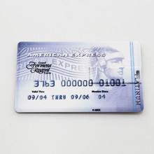 Alibaba China bulk American Express credit card usb flash memory,real 4gb card usb stick, plastic usb flash drive 1tb