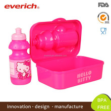 600ml Non-toxic High Quality Wholesale plastic bento kids lunch box