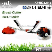 43cc CE EU2 certificate petrol grass trimmer
