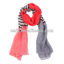 Ms. Europe and America Contrast Color Scarf