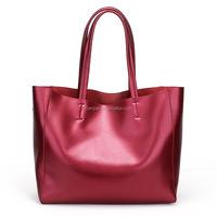 2015 Latest New Genuine Leather Oversized European American Ladies Handbag Tote Bag (XJSF34)