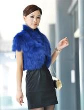 China supplier new product women faux fox fur vest