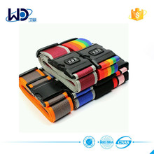 Custom practical luggage belt/strap with lock