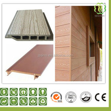 Outdoor composite plastic wood wall paneling/ wall cladding/ wall sliding
