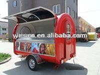 mobile caravan food van/bubble tea cart