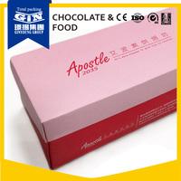 OEM frozen food grade paper cake box packaging for Swiss Roll