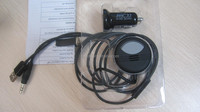 High quanlity bluetooth handsfree car kit with mobile phone requirement for streaming in aux car