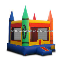 Stationery bouncy castle for student PE course