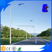 Pole with LED highway light