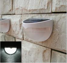 led outdoor wall lights/ solar wall mounted lights motion sensor solar lights IP65 CE ROHS