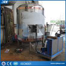 ss304 storage jacketed cooling water tank beer fermentation tank
