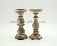 venta al por mayor de madera candelabros