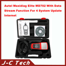 2015 Autel Maxidiag Elite MD702 With Data Stream Function For 4 System Update Internet