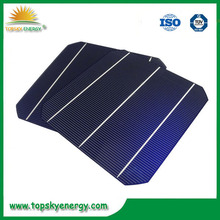 """2015 High Efficiency A grade 156mm x156mm 6"""" 2BB/3BB 6 inch mono Solar Cell with competitive price for sale"""