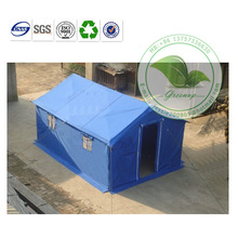 Low Cost Waterproof PVC Coated Fabric Emergency Tent/Relief Tent/Rescue Tent