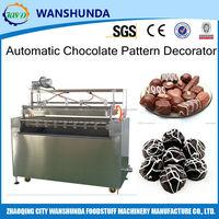 Chocolate decorating production machinery