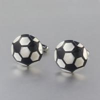 Stainless Steel Custom Cufflinks Ball Design for men Wholesale 2015