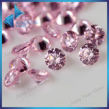 lovely pink lab created diamond gemstone for ring