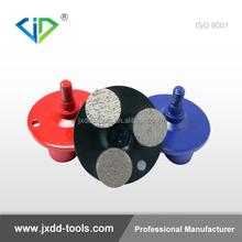 Diamond grinding plugs for concrete