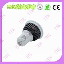 5w integration white&black body 2015 hot sale MR16/GU5.3 led spotlight lamp cup