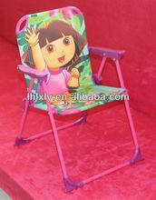 Kinder klappstuhl für den strand, spielplatz