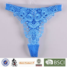 Made in China Beautiful Young Lady Transparent Thong Panty