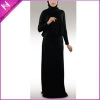 muslim simple jilbab designs black