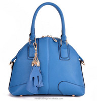 Alibaba China supplier bag manufacture direct wholesale cheap women handbag in stock , pu leather handbag