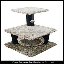 High quality china cats tree was made from berber Fleece