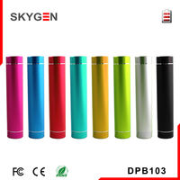 Portable Charger of 2600mAh Li-ion Battery for Mobile Phone with Multiple Color
