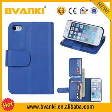 Colorful OEM Hot Selling Back Cover Leather Case For iPhone 5/5s,Case For iPhone 5 5S Multifunction Wallet Case Bags Handbag