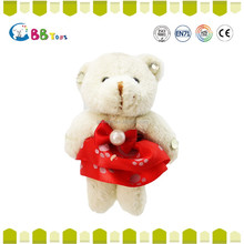 2015 Latest wholesale custom plush toy,The female bear wearing a red dress